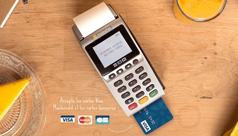 Nouveau ! Paiement par carte bancaire possible !
