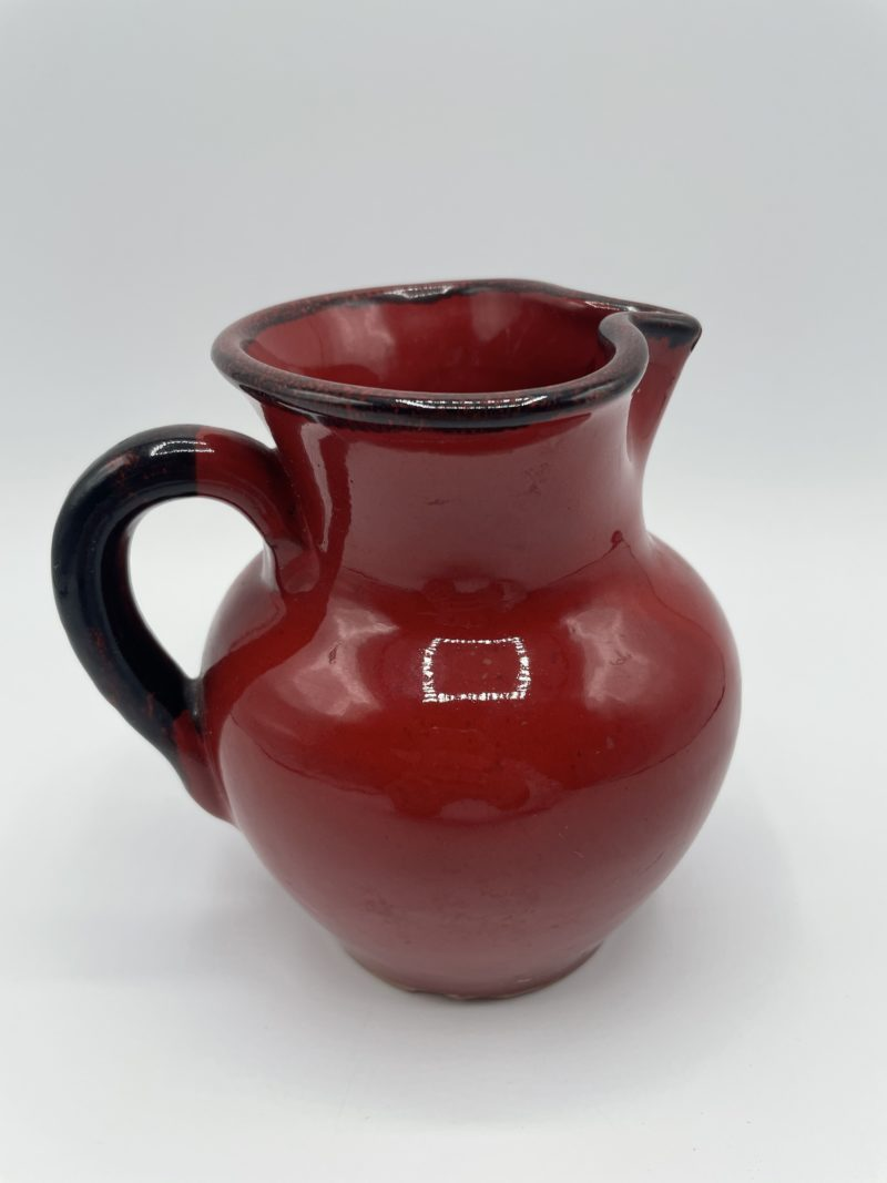 cruche vallauris rouge