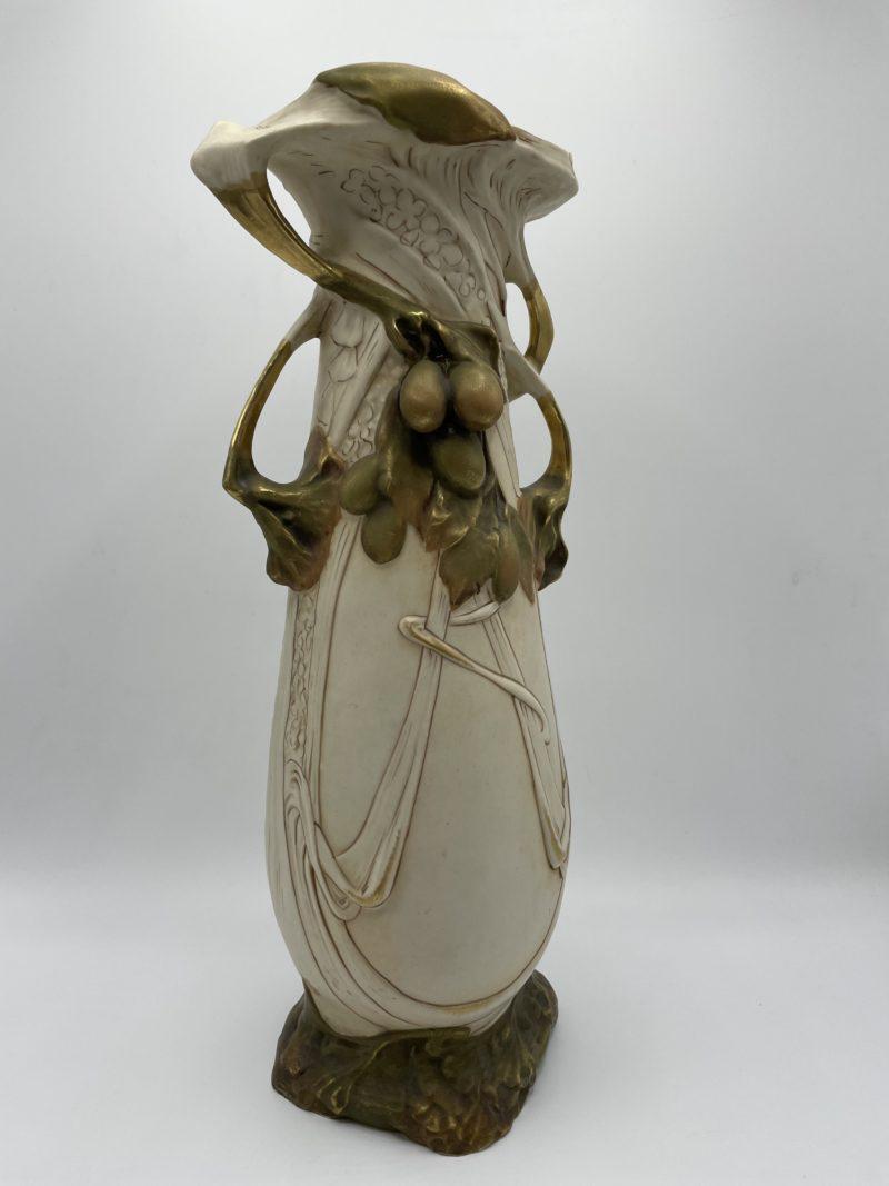 vase porcelaine roumanie