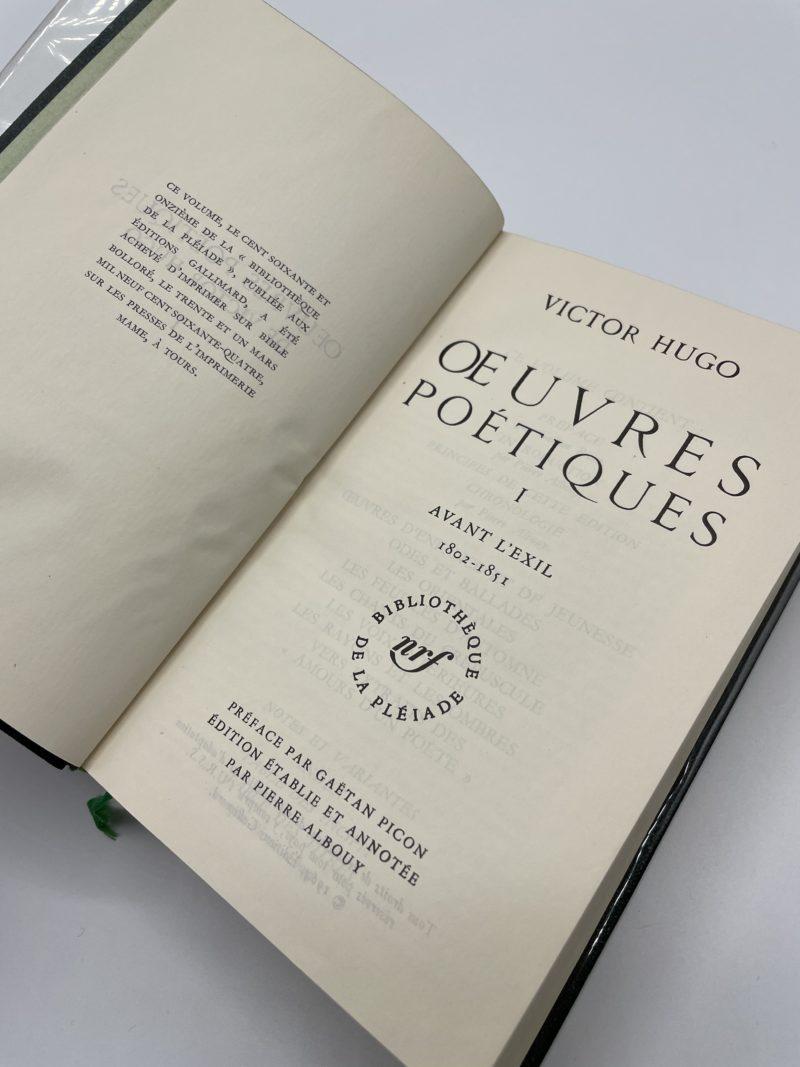 victor hugo pleiade