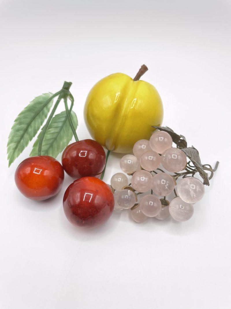 fruits verre deco