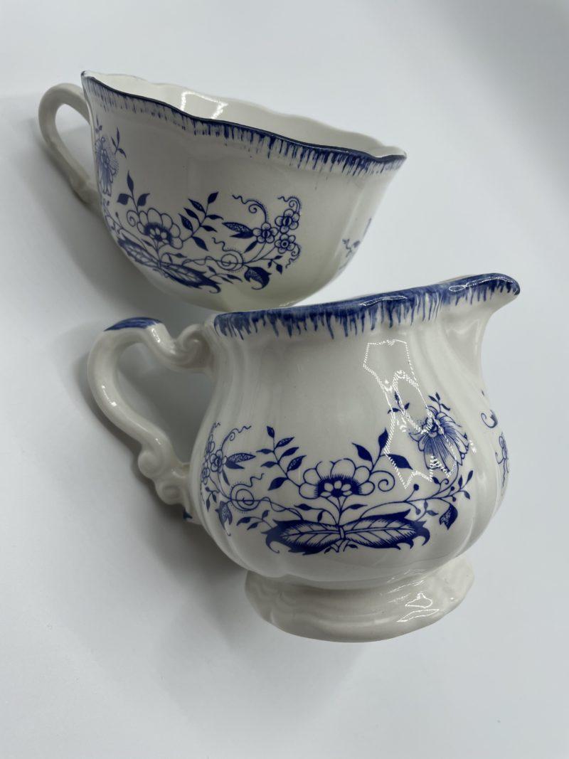 theiere anglaise porcelaine
