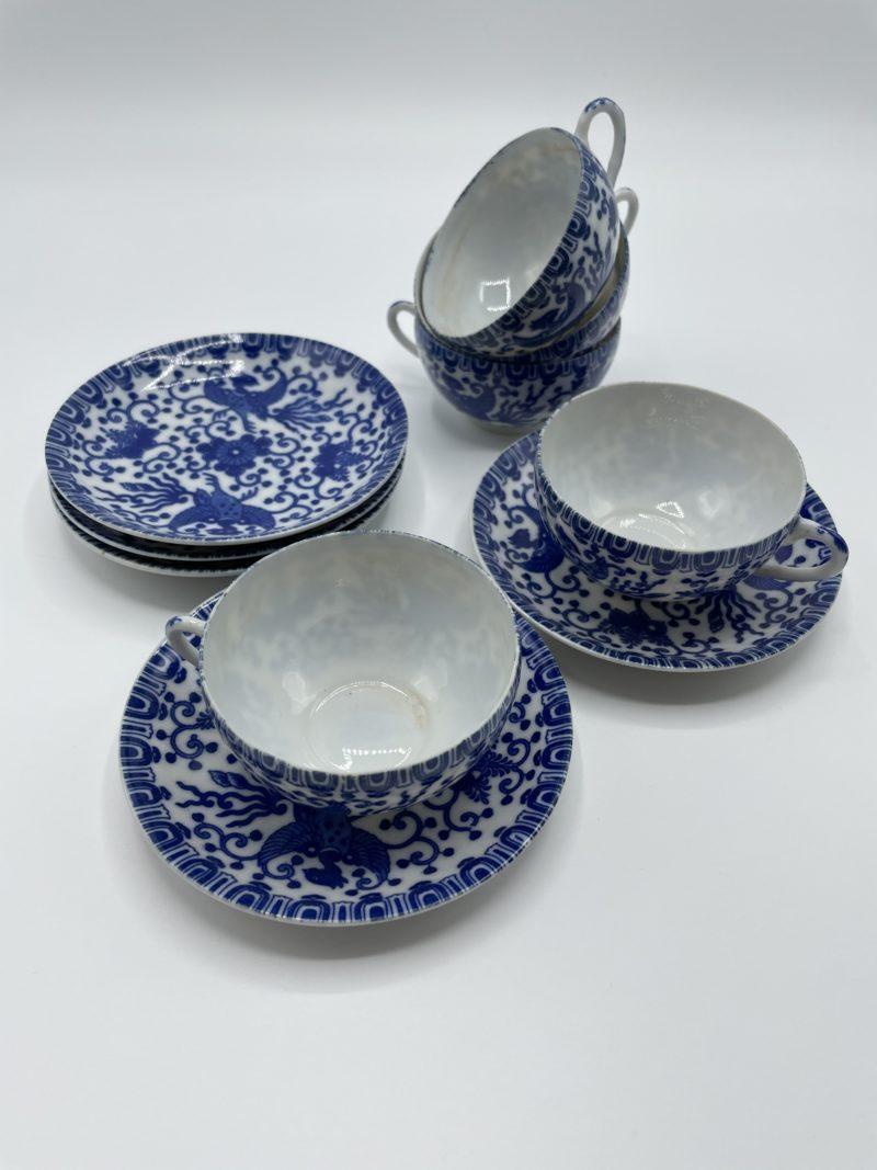 service porcelaine phenix japon