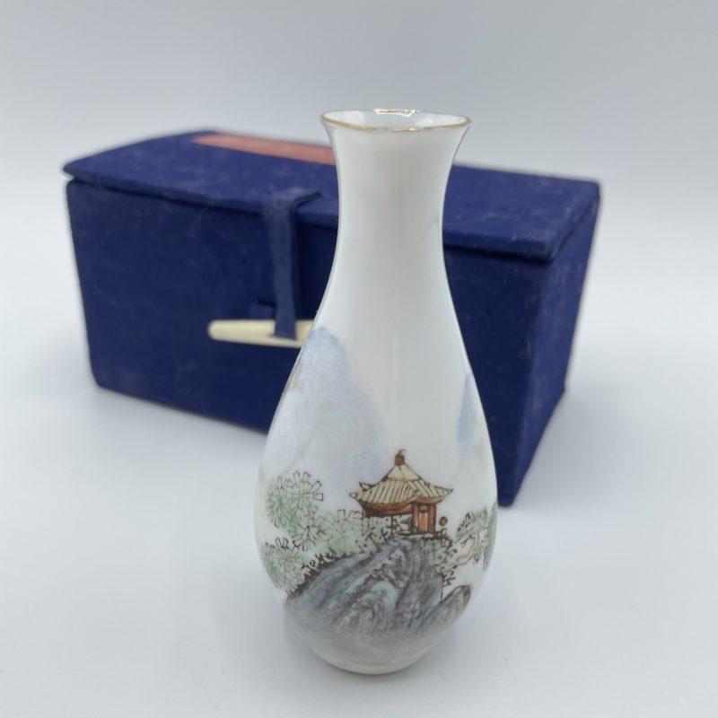 bouteille sake porcelaine