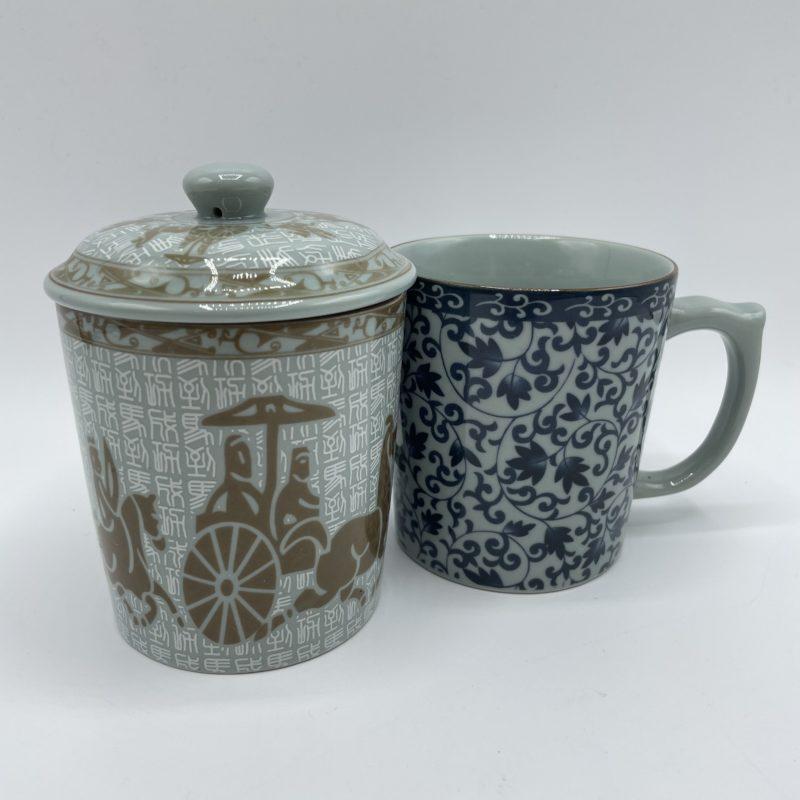 duo tasse porcelaine japon