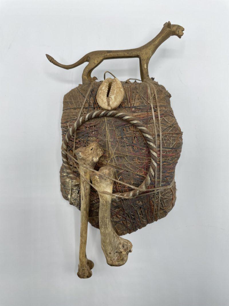 fetiche guepard afrique deco ethnique collection