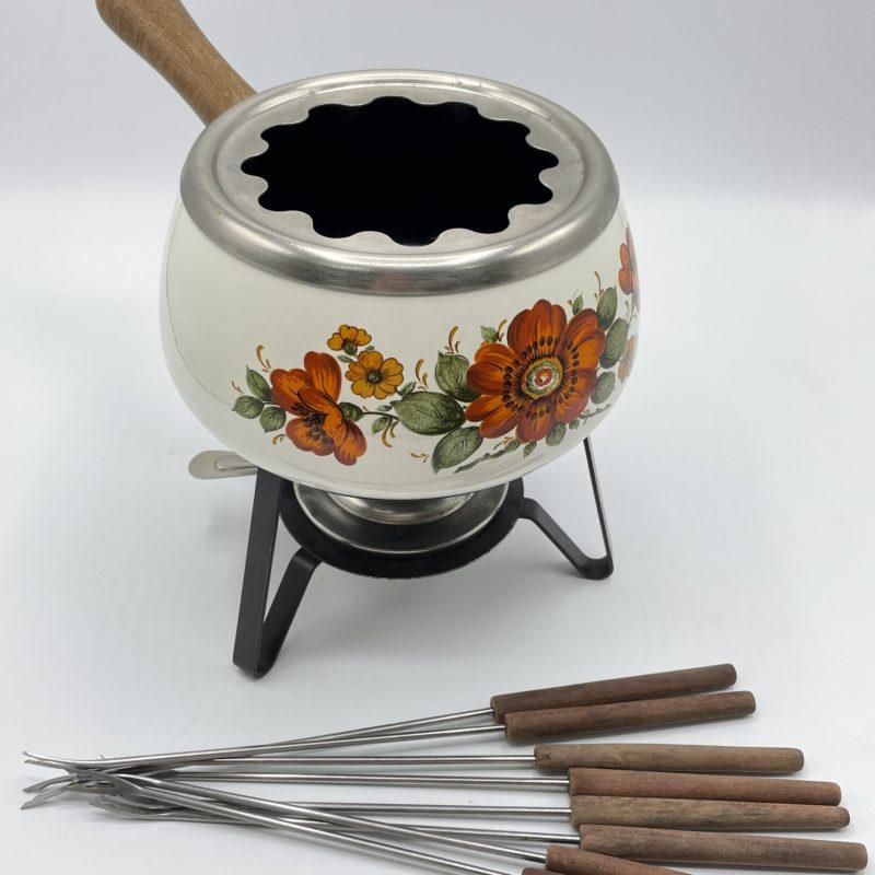 appareil fondue vintage 1970
