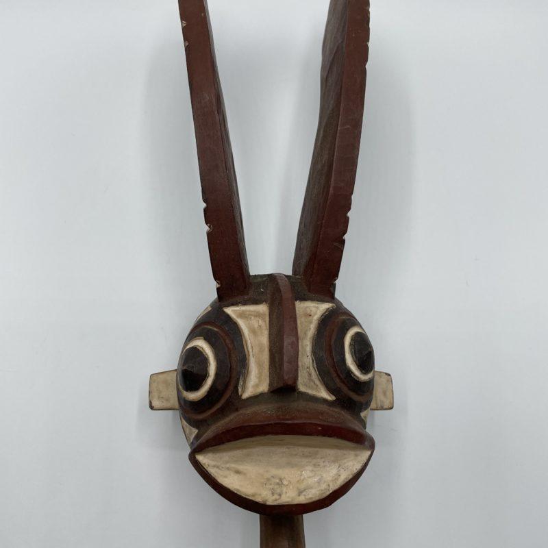 masque africain hibou deco ethnique collection