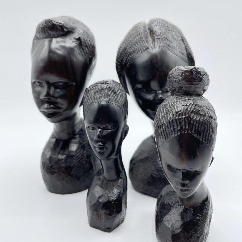 sculpture bois ebene afrique