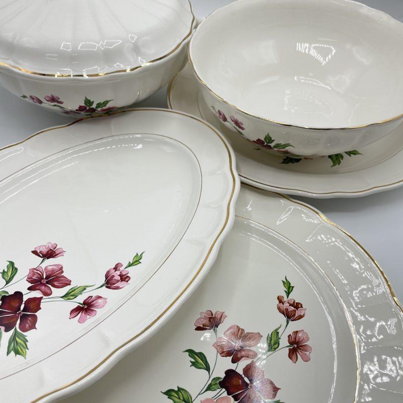 service salins porcelaine
