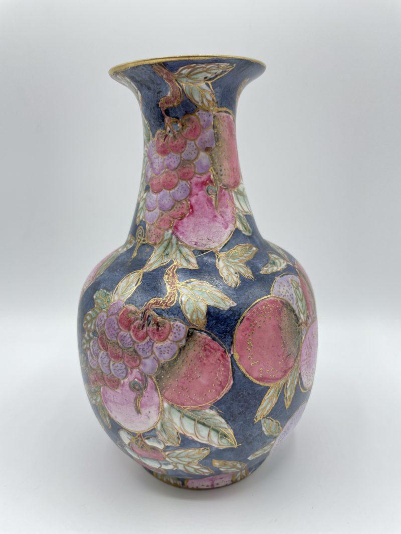 vase porcelaine chinoise emaux