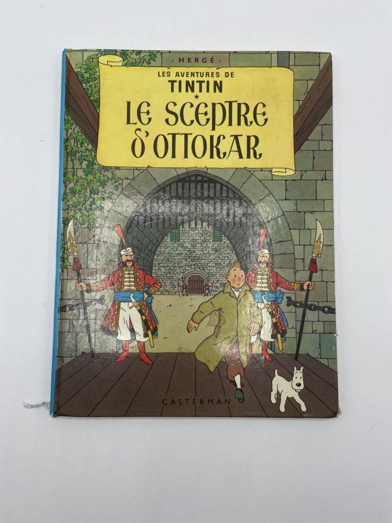 bd tintin le sceptre d'ottokar