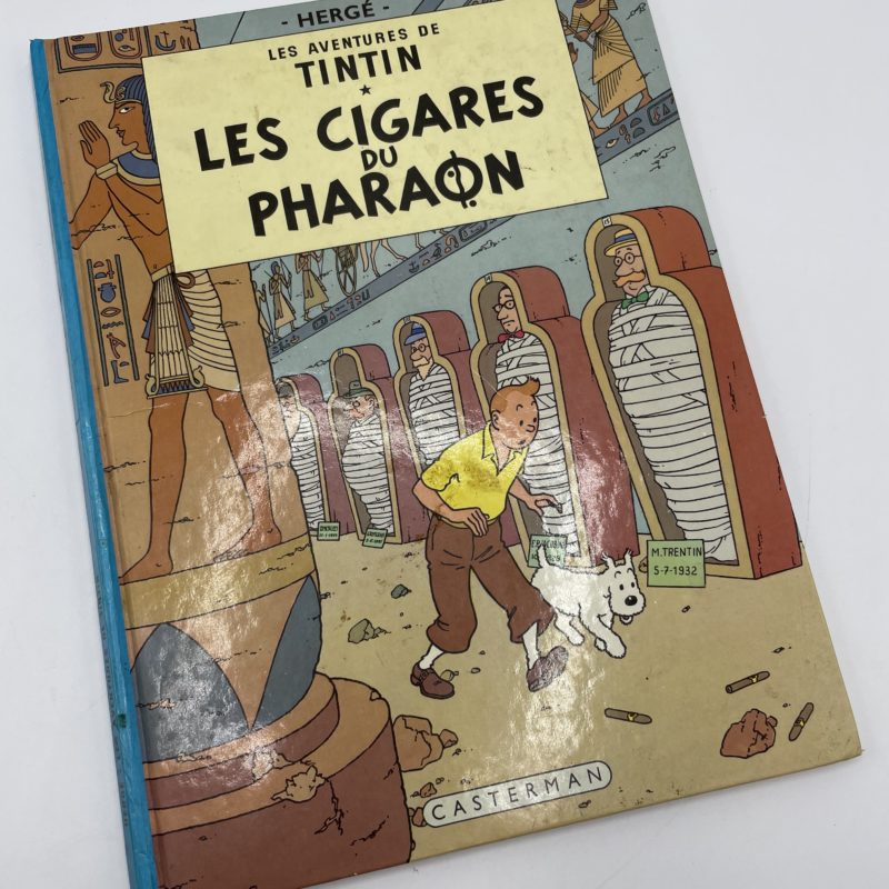 bd tintin les cigares du pharaon
