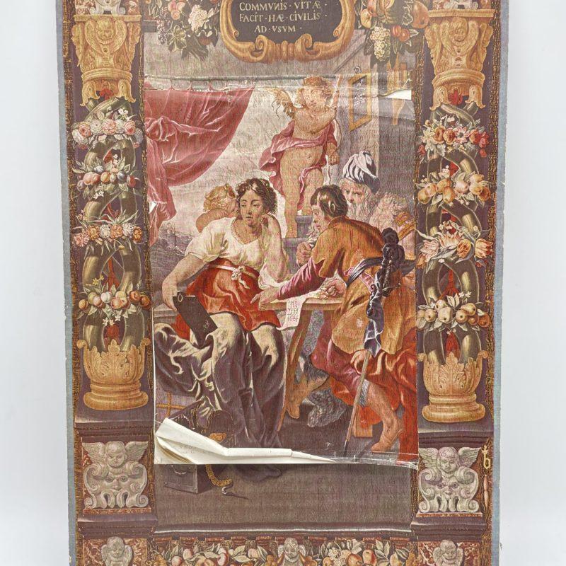 almanach vintage italie peinture 1961