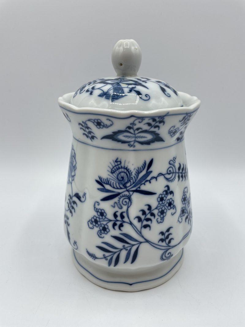 bonbonniere blue danube porcelaine vintage
