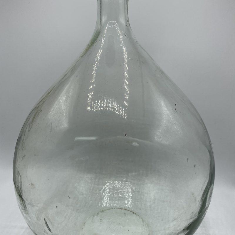 dame jeanne grand 20l verre transparent deco