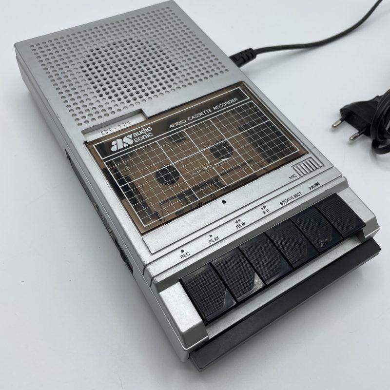 enregistreur cassette audio vintage walkman