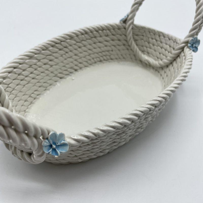 panier porcelaine bassano