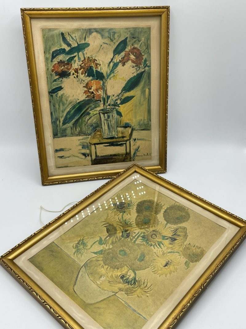 tableau reproduction van gogh tournesol maurice utrillo