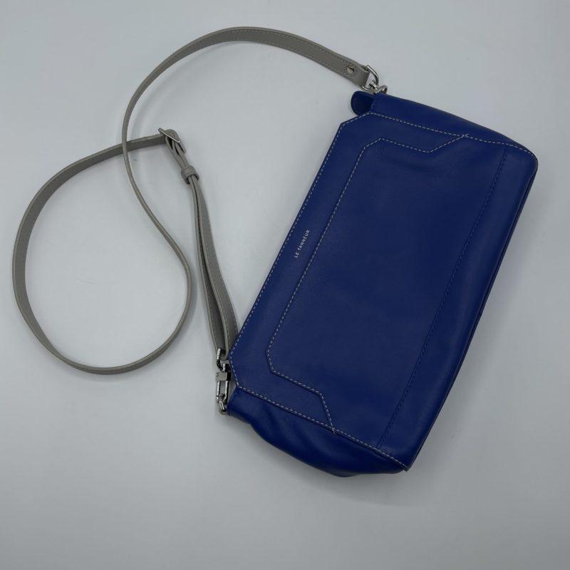 sac bandouliere le tanneur bleu