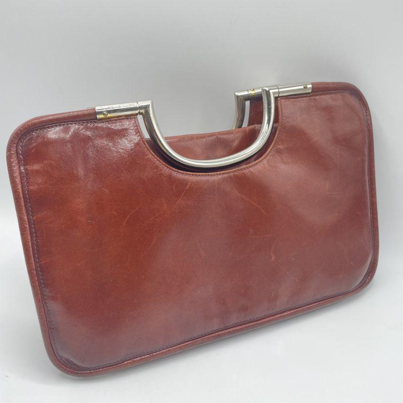 sac lancel cuir vintage