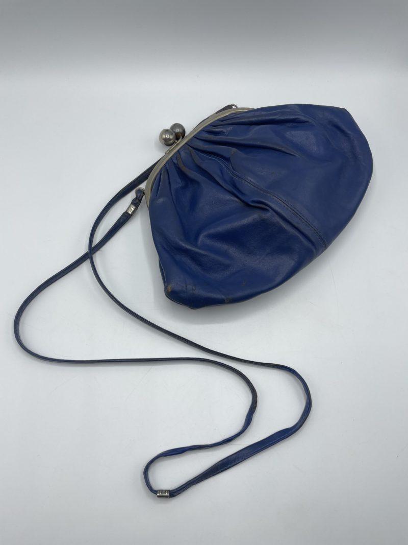 sac vintage bleu