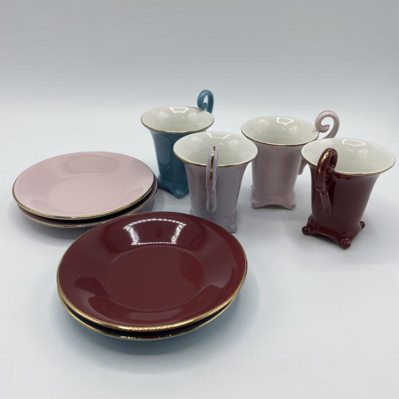 service cafe porcelaine couleur