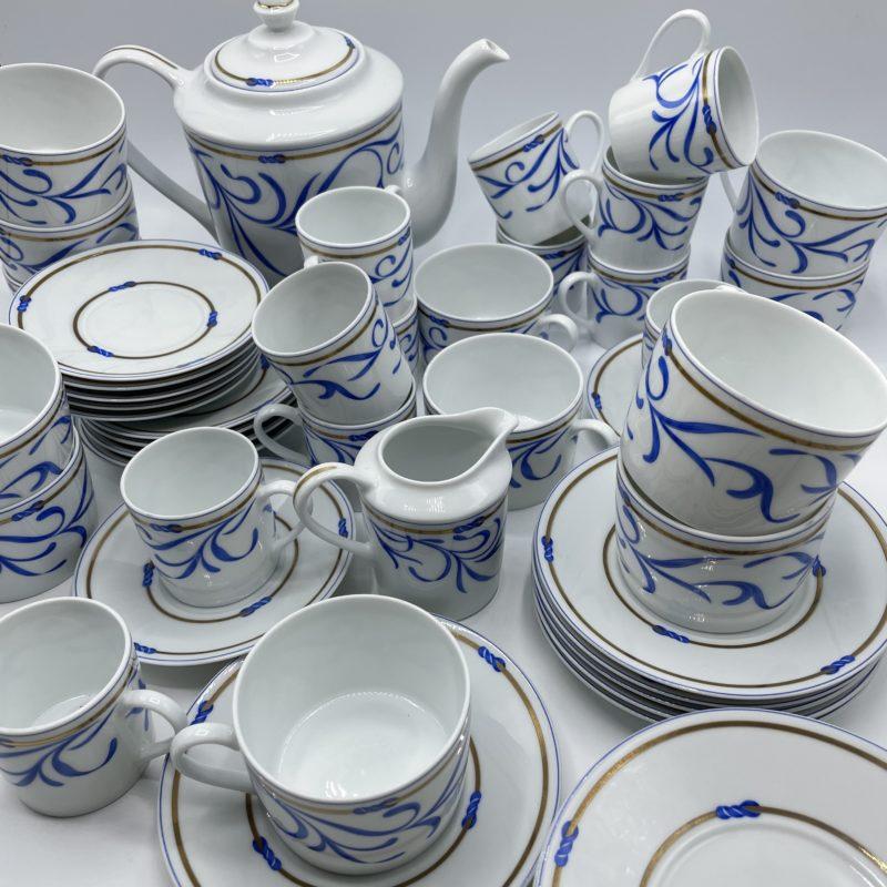 service cafe porcelaine limoges remy