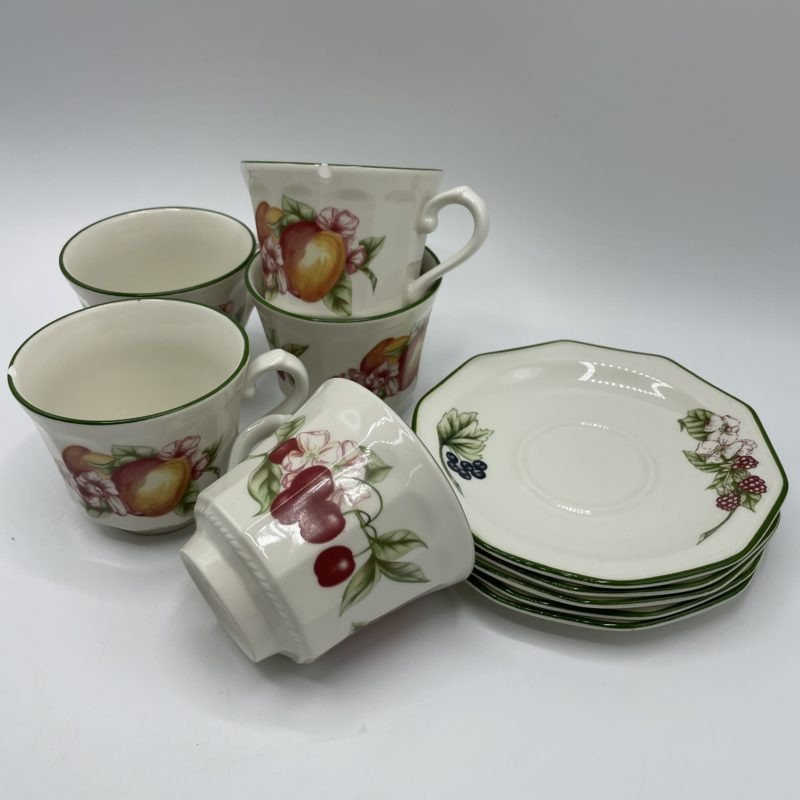 service the porcelaine churchill england fruit