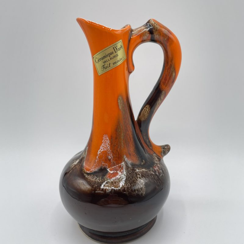 vase pichet vallauris ceramique art