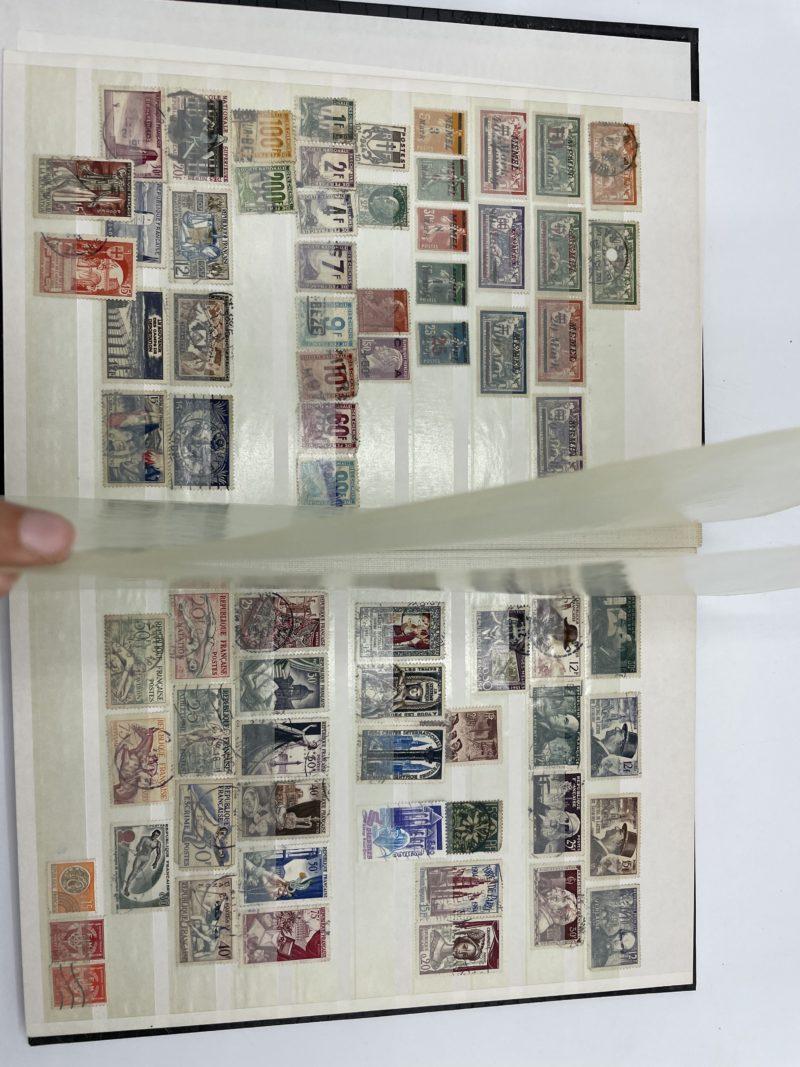 grande collection timbres monde entier