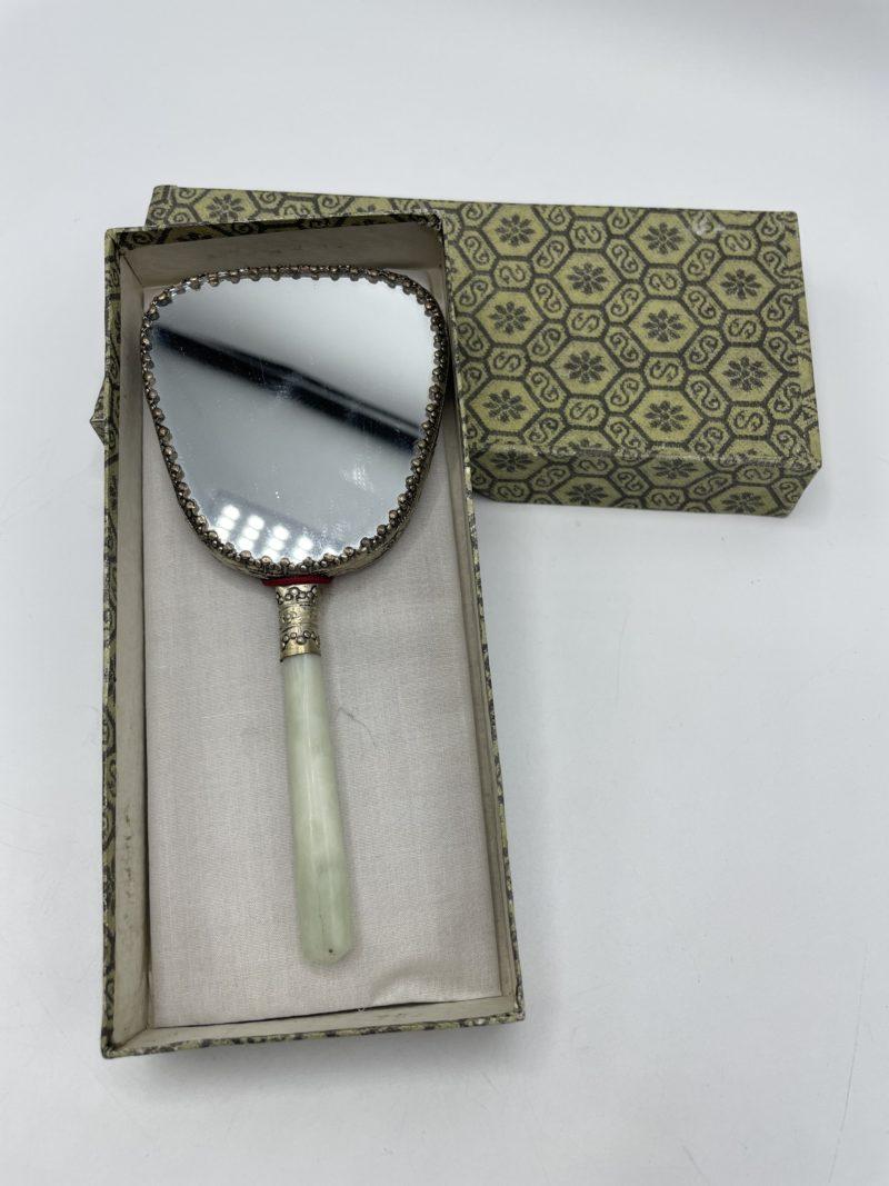miroir main vintage chine