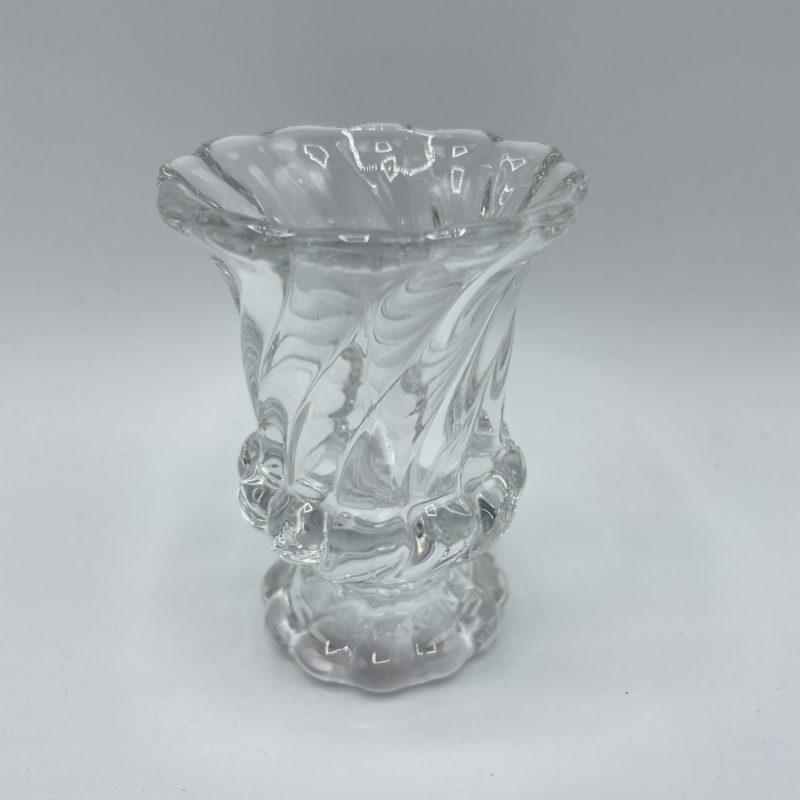 bibelot cristal baccarat vintage bougeoir soliflore vase verre