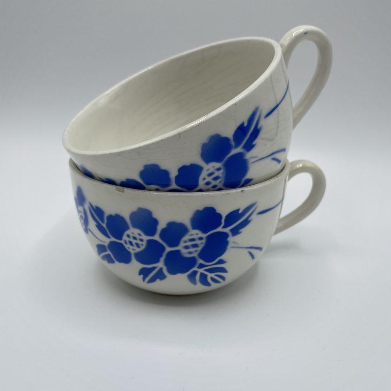 tasse the vintage fleur bleue