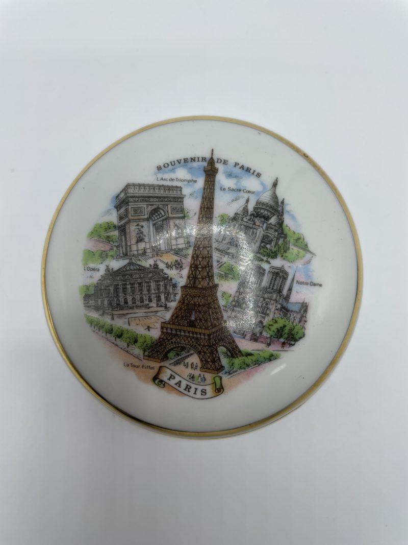 ecrin porcelaine limoges souvenir paris monuments