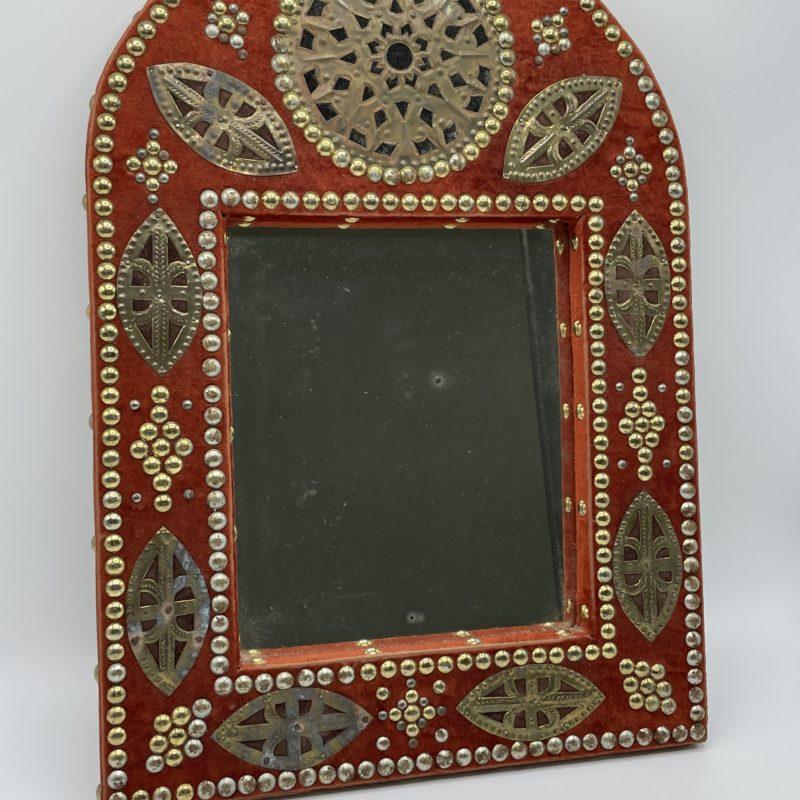 miroir marocain arche rouge
