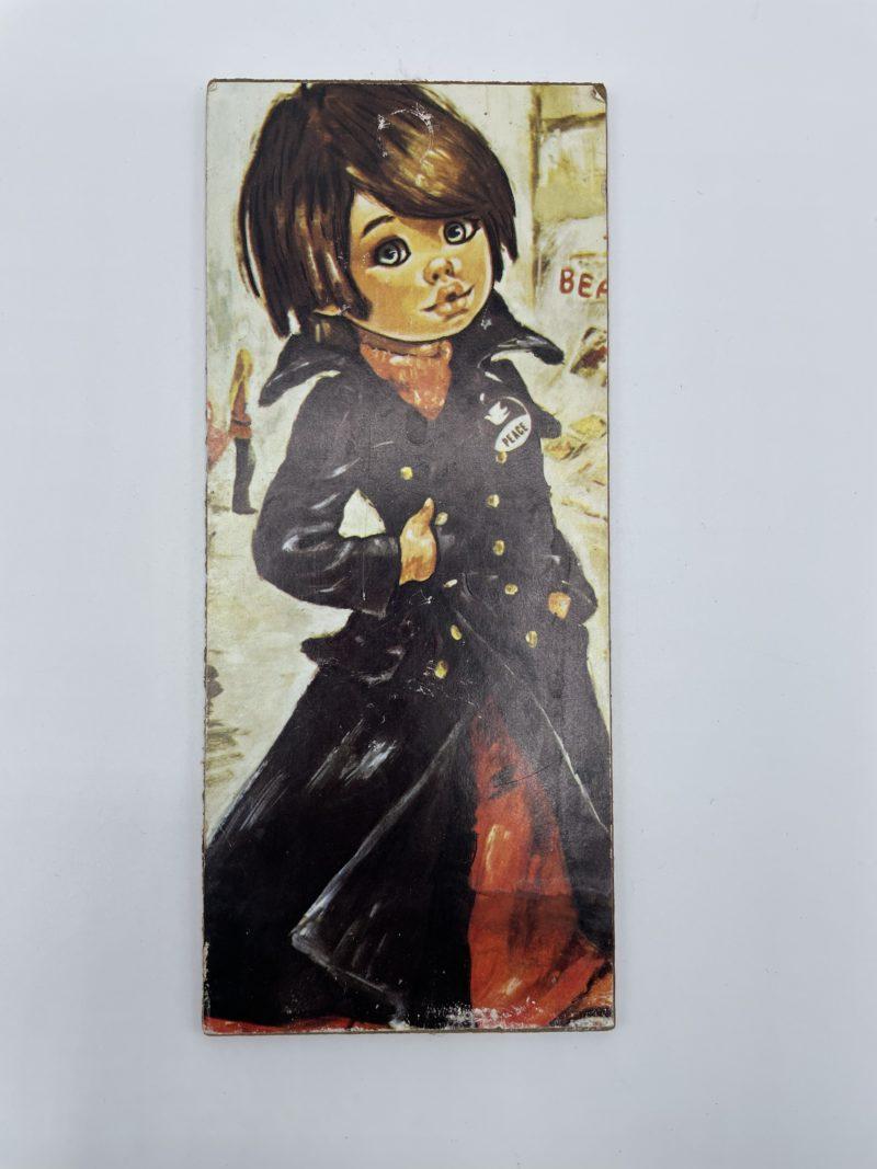 panneau vintage deco poulbot