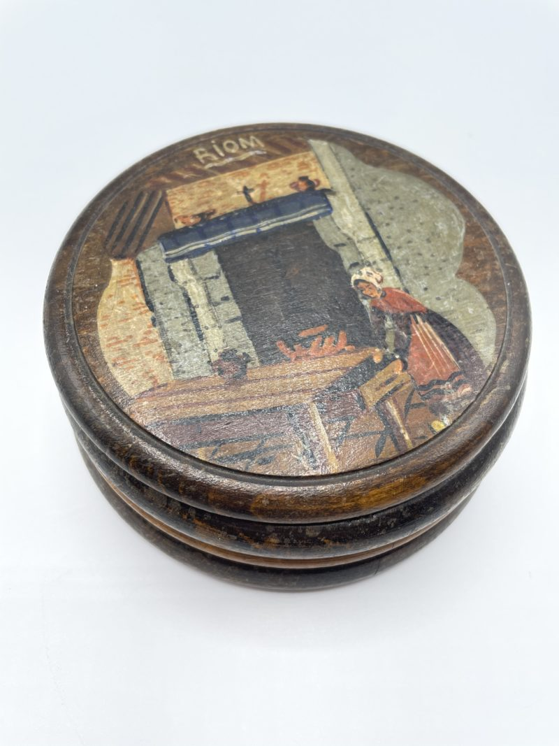 boite bois vintage retro rustique deco