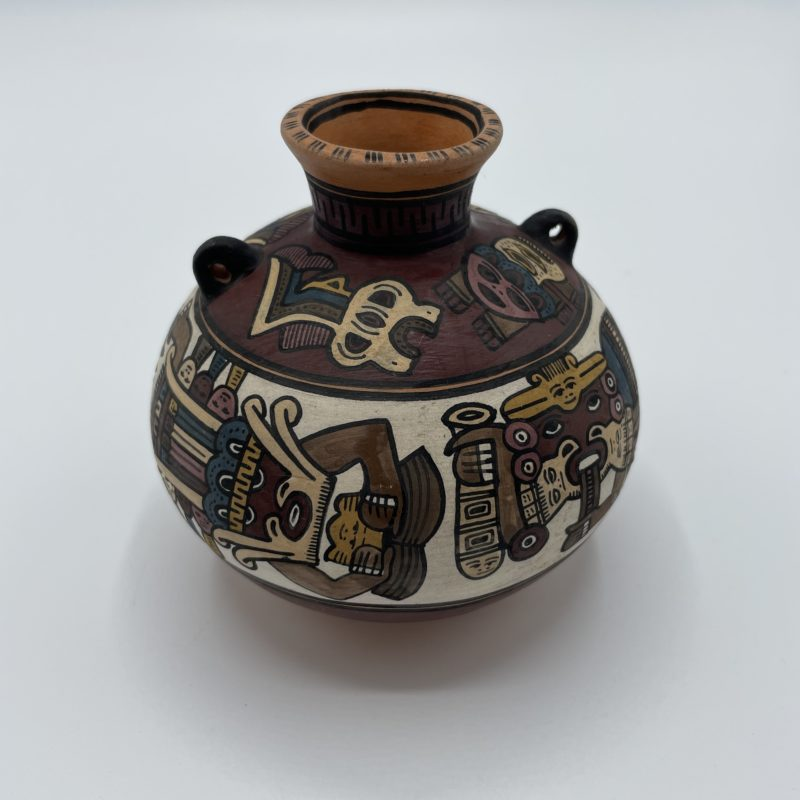 solflore vase ethnique perou deco azteque