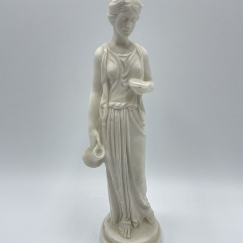 statuette femme grecque deco sculpture resine