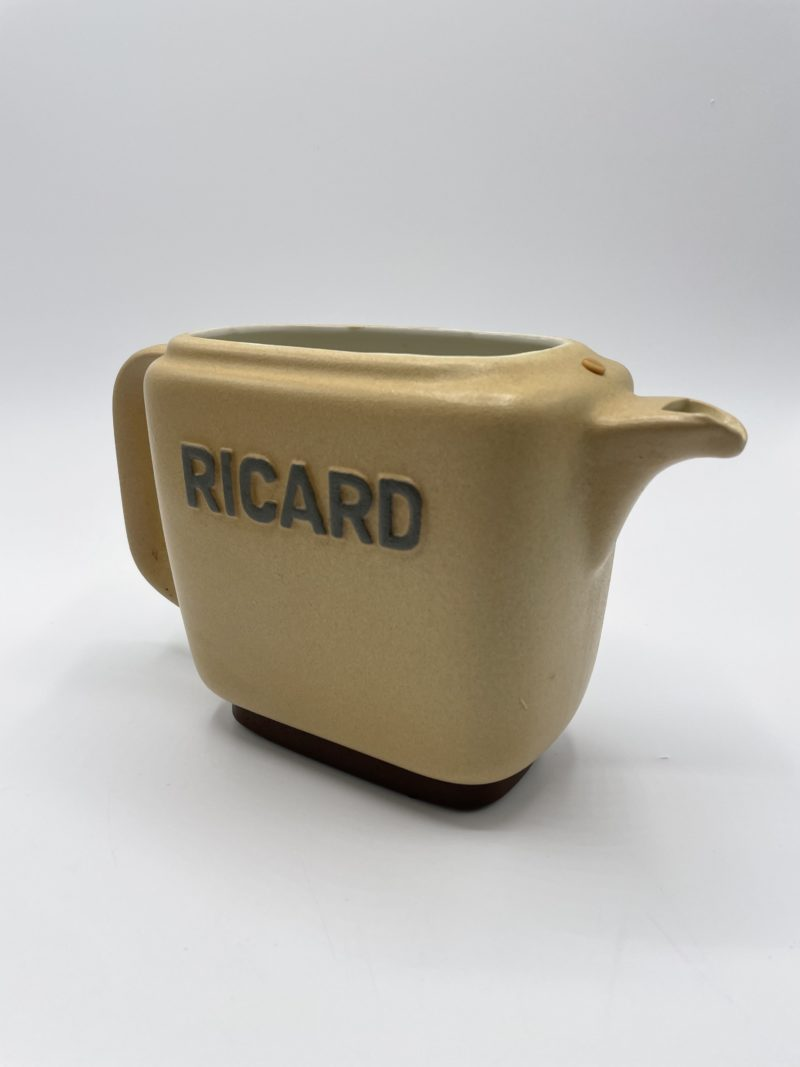 carafe vintage cruche pichet ceramique ricard