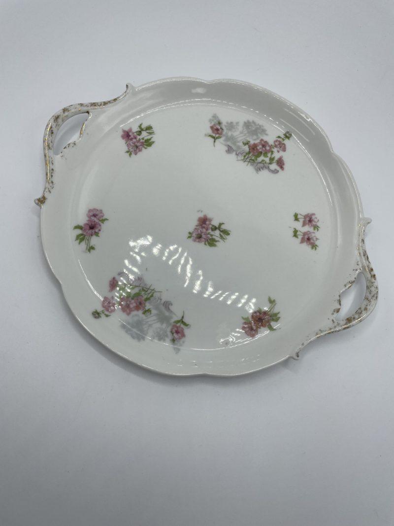 assiette porcelaine limoges vintage plateau