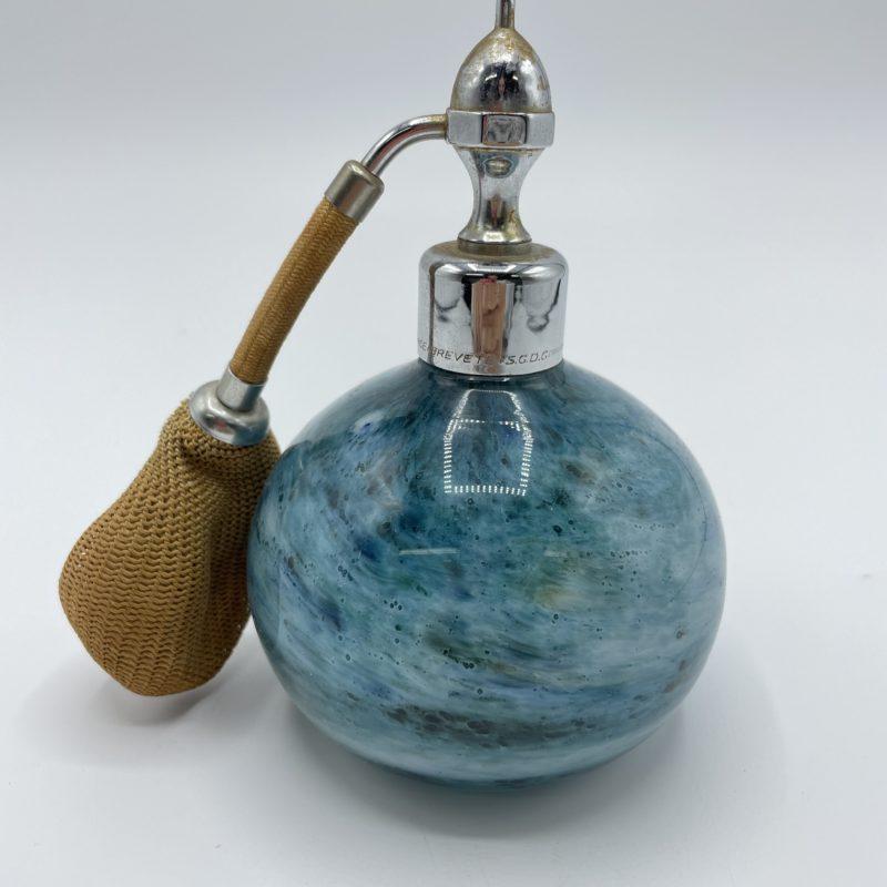 vaporisateur parfum verre marcel franck vintage