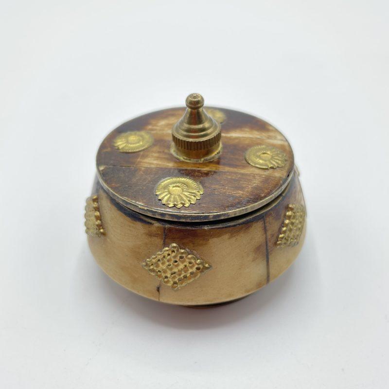 petite boite deco indienne vintage laiton